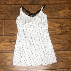 Lululemon Athletica Polka Tank Top Size 4